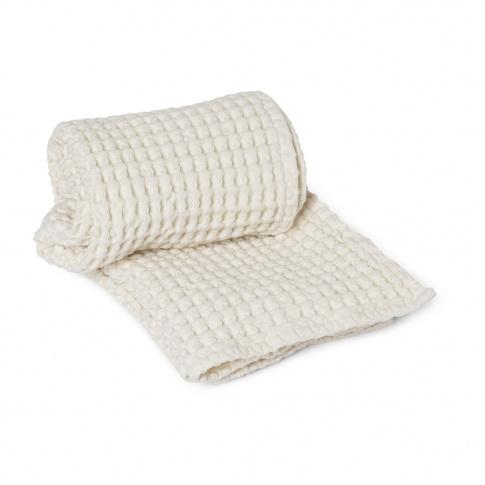 Fotografia, na której jest Ręcznik do rąk ferm LIVING | Off-White