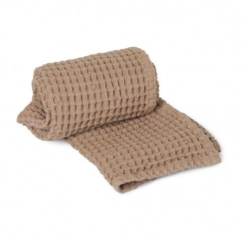 Fotografia, na której jest Ręcznik do rąk ferm LIVING | Tan