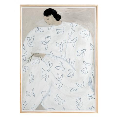 Fotografia, na której jest Plakat WHITE FLOWER - Fine Little Day