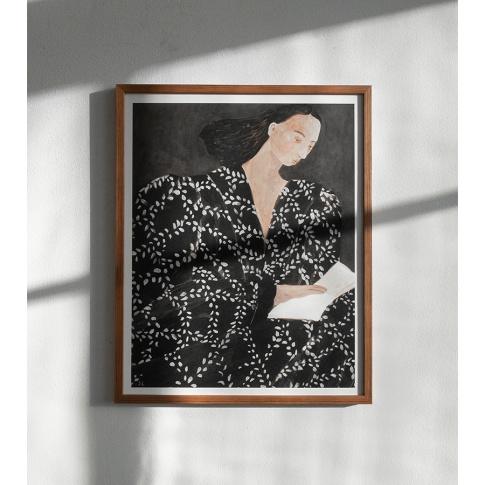 Fotografia, na której jest Plakat READING - Fine Little Day