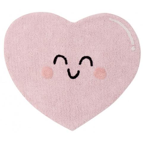 Fotografia, na której jest Dywan bawełniany Happy Heart - Lorena Canals
