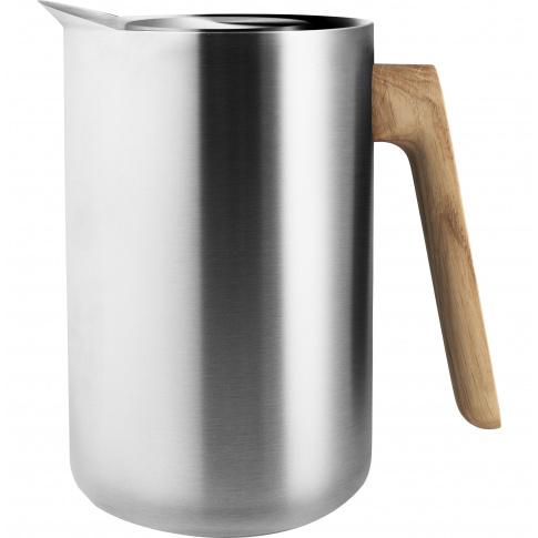 Fotografia, na której jest Dzbanek próżniowy srebrny Nordic Kitchen - Eva Solo
