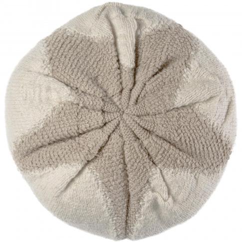 Fotografia, na której jest Poduszka Knitted Cushion Cotton Boll - Lorena Canals