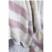 Fotografia, na której jest Koc bawełniany Stripes - Lorena Canals