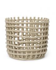 Kosz ceramiczny - ferm LIVING | cashmere