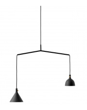 Lampa wisząca Cast_4 Czarna - Menu