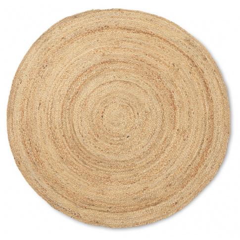 Fotografia, na której jest Dywan jutowy Eternal okrągły  - ferm LIVING