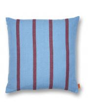 Poduszka Grand - niebieski | bordowy - ferm LIVING
