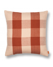 Poduszka Grand - różowy | rdzawy - ferm LIVING