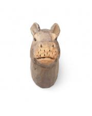 Wieszak ręcznie rzeźbiony Hipopotam - ferm LIVING