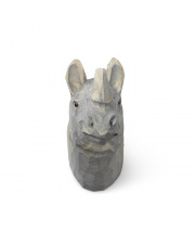 Wieszak ręcznie rzeźbiony Nosorożec - ferm LIVING
