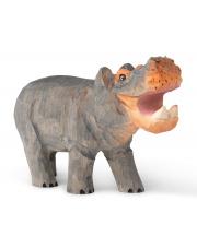 Figurka drewniana Hipopotam - ferm LIVING