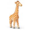 Fotografia, na której jest Figurka drewniana Żyrafa - ferm LIVING