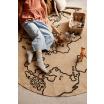 Fotografia, na której jest Figurka drewniana Lew - ferm LIVING