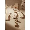 Fotografia, na której jest Figurka drewniana Gepard - ferm LIVING