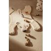 Fotografia, na której jest Dywan wełniany Niedźwiedź polarny - ferm LIVING