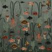 Fotografia, na której jest Fototapeta AQUATIC LIFE, OXYGEN | Moss & Coral REBEL WALLS