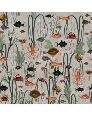 Fototapeta AQUATIC LIFE | Moss & Coral REBEL WALLS