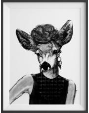 Plakat Lady Camille - kreska