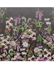 Fototapeta ALICE'S GARDEN, MIDNIGHT | Moss & Coral REBEL WALLS