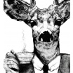 Fotografia, na której jest Plakat Hrabia Albert - kreska
