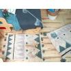Fotografia, na której jest Dywan bawełniany Mini Azteca - Lorena Canals