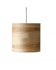Lampa sufitowa skandynawska drewniana wisząca – Woodwool