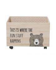 Pudełko na zabawki MiniBear