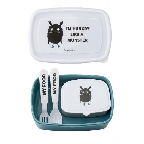 Fotografia, na której jest Lunch box dla dziecka HappyBreakfast