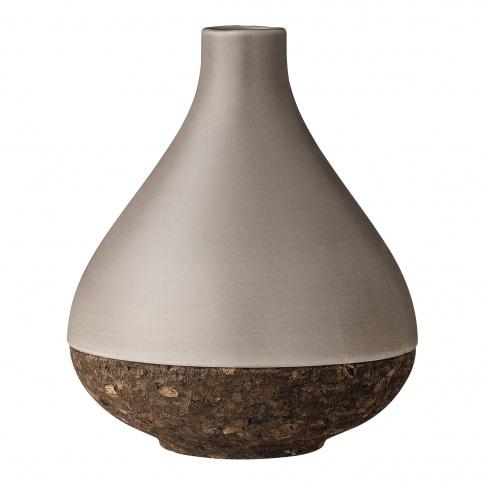 Fotografia, na której jest Skandynawski wazon ceramiczny Bloomingville