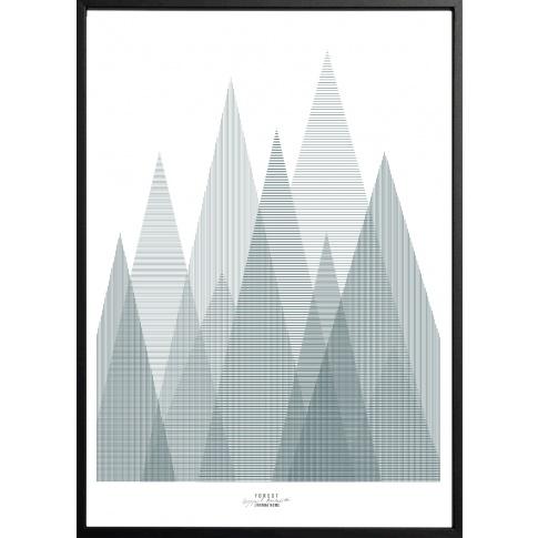 Fotografia, na której jest Plakat FOREST - 50x70 cm - IHANNA HOME