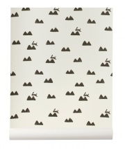 Tapeta dziecięca RABBIT off white - ferm LIVING