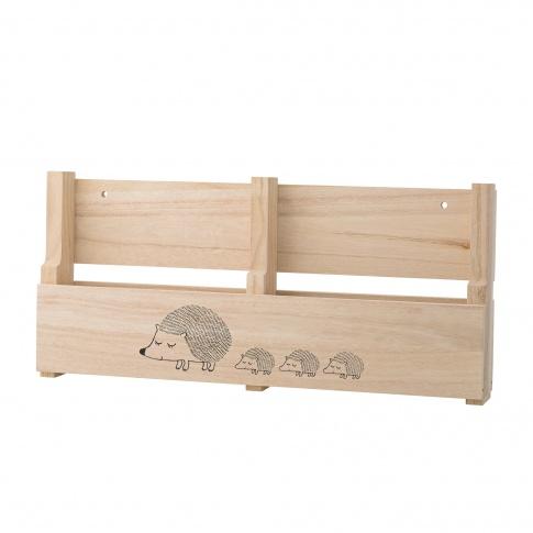 Fotografia, na której jest Półka wisząca Wood Shelf