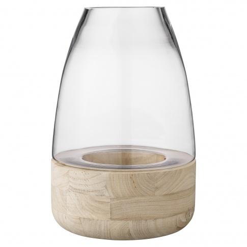 Fotografia, na której jest Lampion szklany Glass Lantern