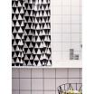 Fotografia, na której jest Zasłona prysznicowa TRIANGLE - ferm LIVING