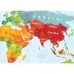 Fotografia, na której jest Mapa Interaktywna - Mapa Świata - Travel Map™ Kids Sights
