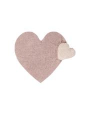 Dywan dla dzieci serce Fluffy Heart